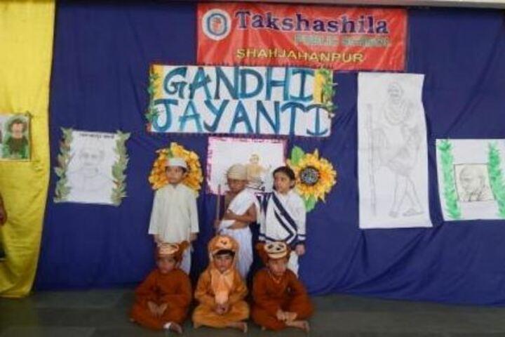 Takshashila Public School-Gandhi Jayathi