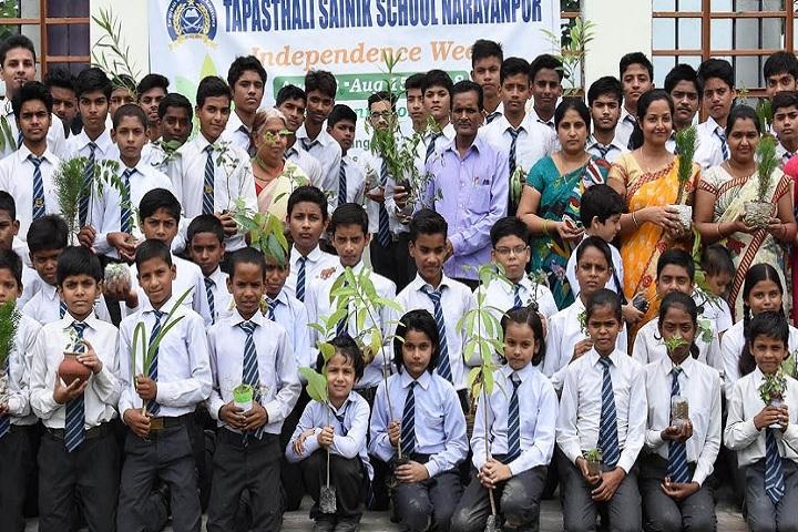 Tapasthali Sainik School-Plantation