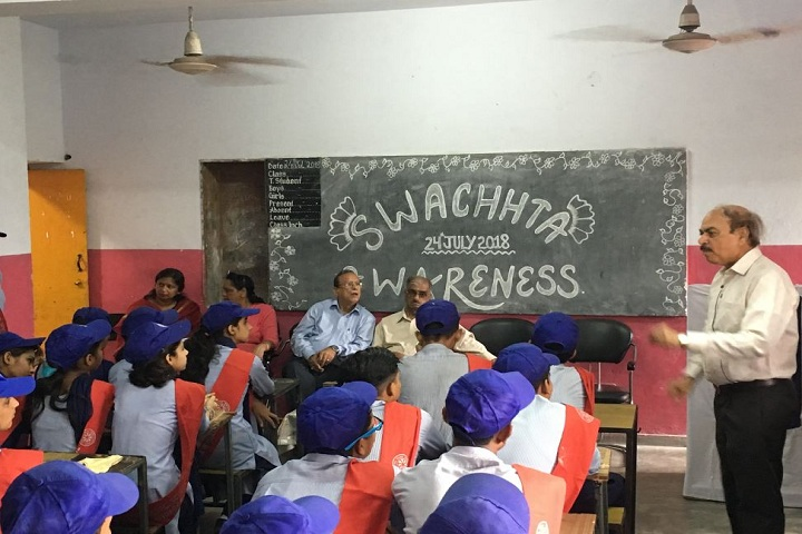 Government Model Senior Secondary School-Swachh Bharat