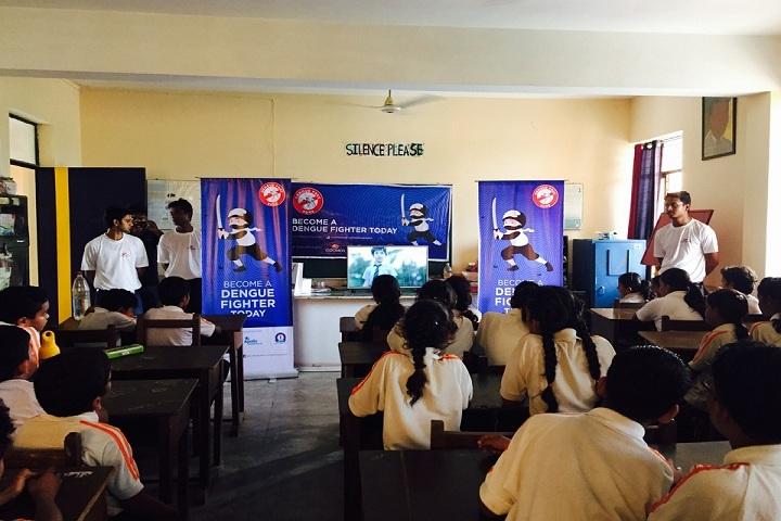 The Avadh School-Dengue awareness program