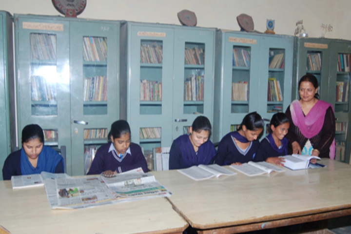 Government Secondary High School-Library