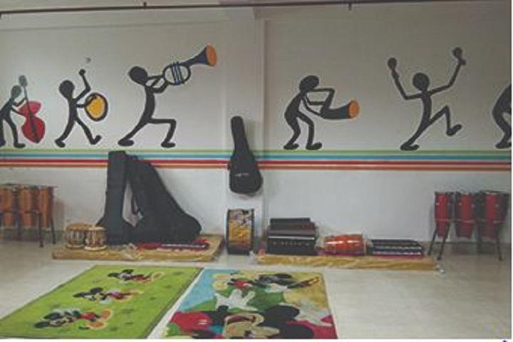 The International School Agra-Music room