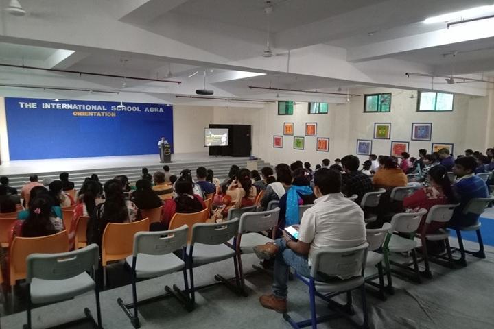 The International School Agra-Orientation day
