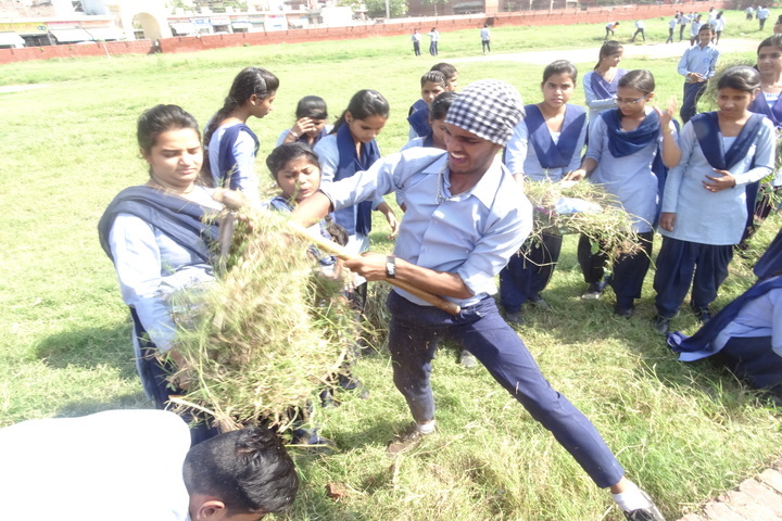 Government Senior Secondary School-Swachta Abhiyan