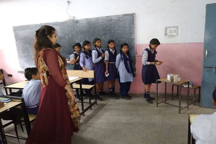Government Senior Secondary School-Classroom