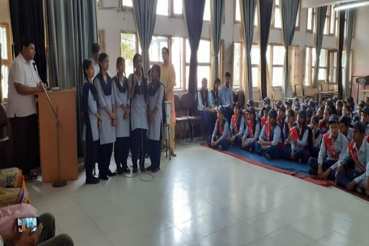 Government Senior Secondary School-Group Song