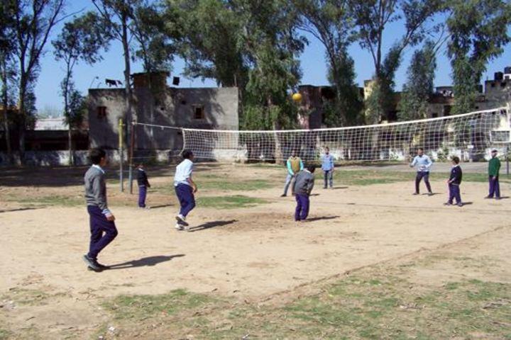 Government Senior Secondary School-Play Area