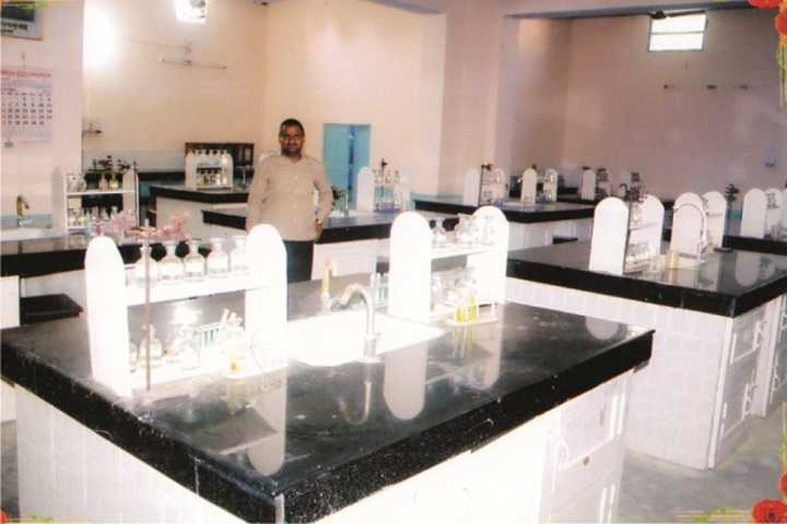 Theosophical Inter College-Chemistry lab