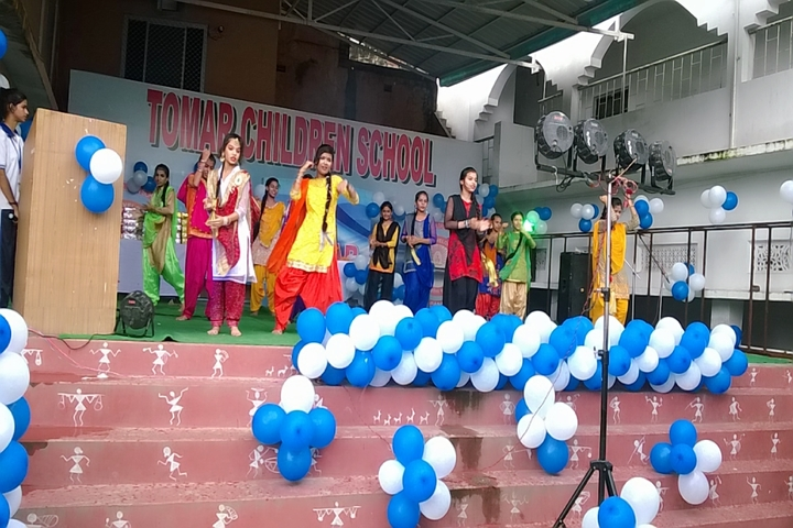 Tomer Children School-Sawan celebrations