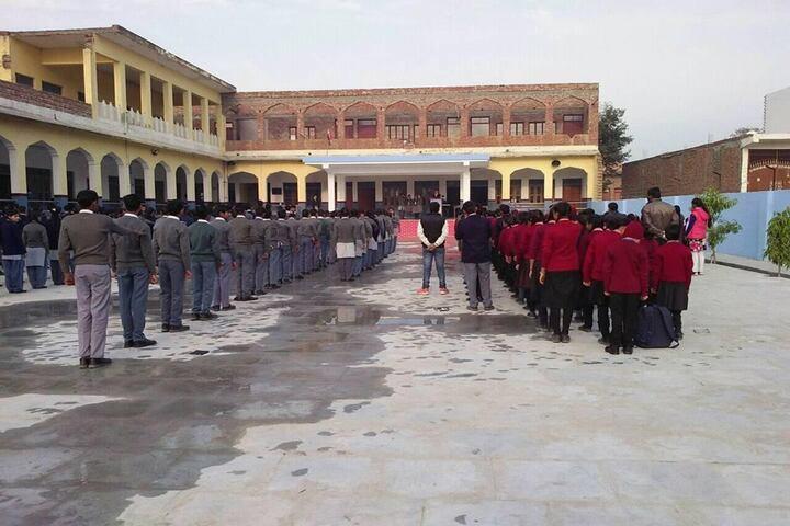 Tundla Public School-Assembly