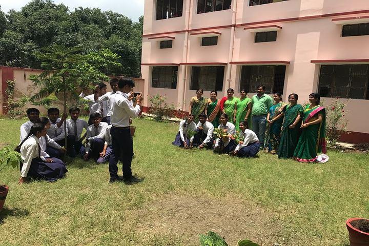 Udai Pratap Public School-Tree plantation