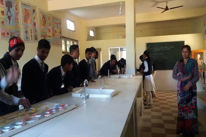 Uma Shankar Vidhyapeeth-Biology Lab