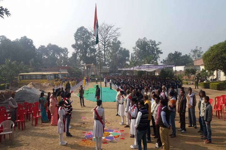 Uma Shankar Vidhyapeeth-Republic Day Celebration
