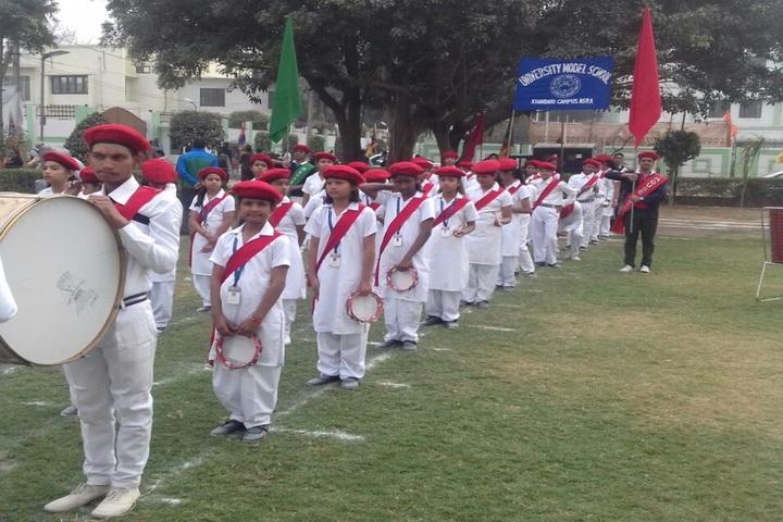 University Model School-Band Troop