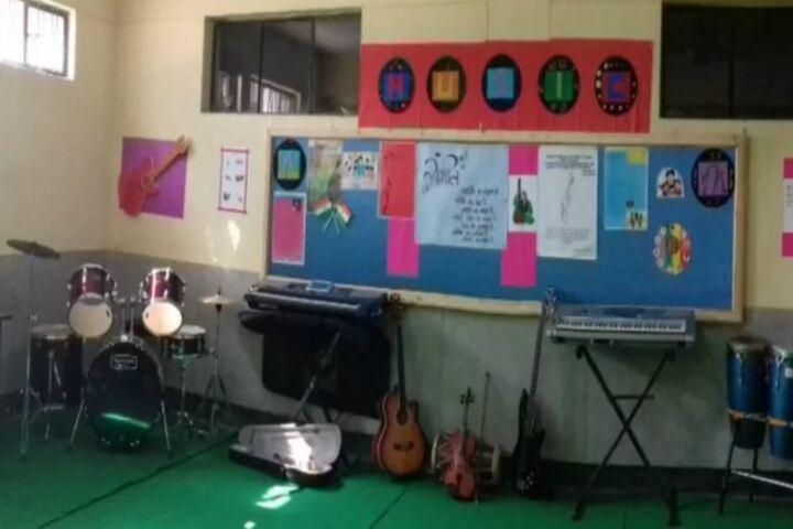 Ursuline Convent Senior Secondary School-Music Room