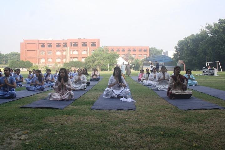 Uttam School For Girls-Yoga Day