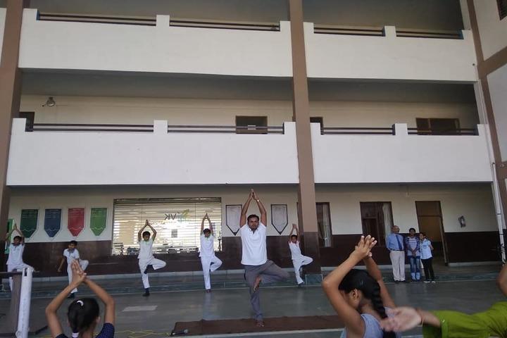 V K International School-Yoga