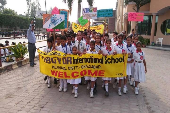 Vibgyor Intenational School-Rally
