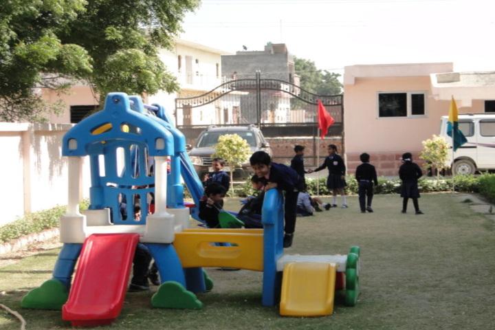 Vidhya International School-Kids PlayArea