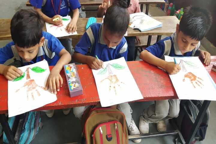Vidhya International School-Painting
