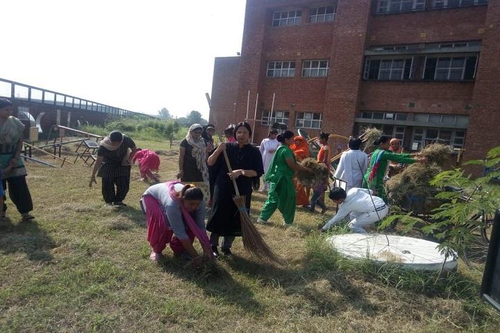 Government Model High School-Swatch Bharat