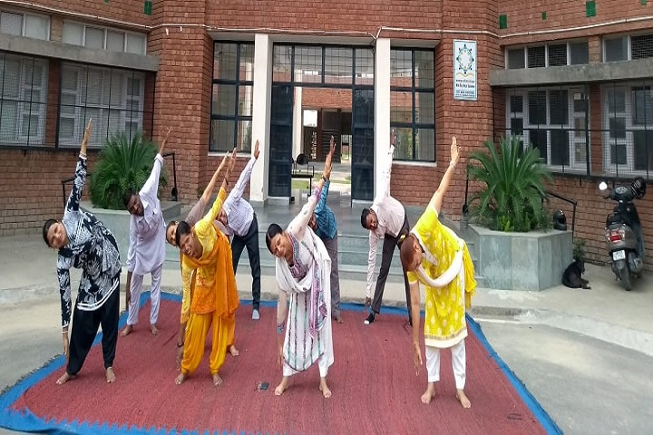 Government Model High School-Yoga Day Celebrations