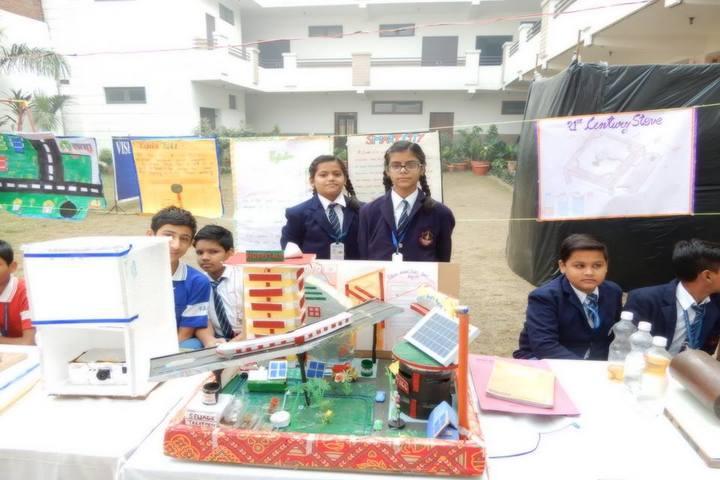 Vishwa Bharti Public School-Science Exhibition