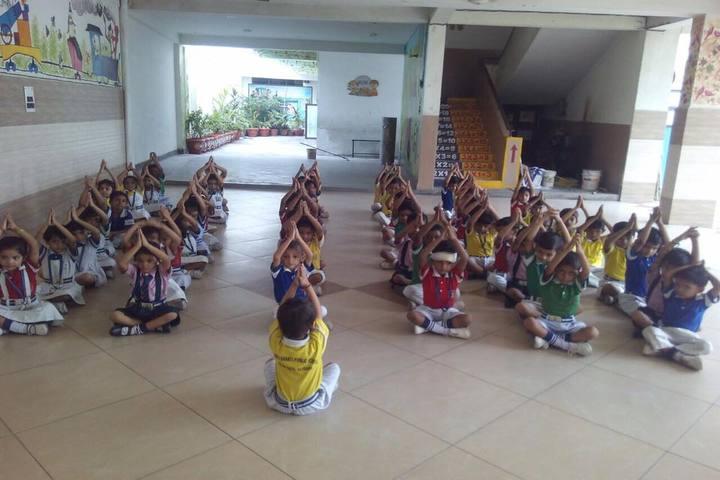 Vishwa Bharti Public School-Yoga Day