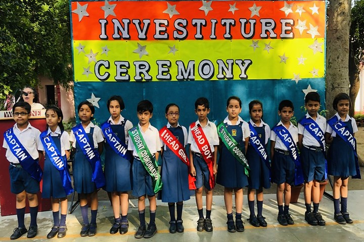 Woodbine Gardenia School-Investiture Ceremony
