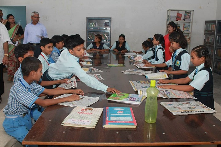 Yash Convent School-Library