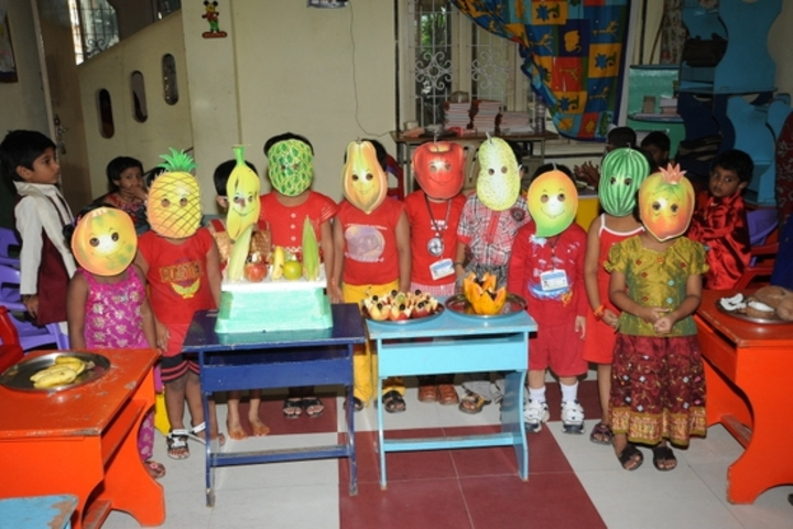 Gowtham Concept School-Fruit Day Celebrations