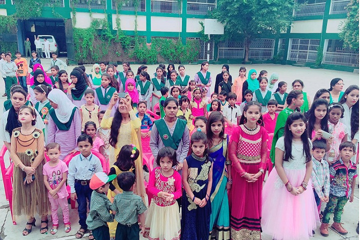Zakir Husain Model Senior Secondary School-Childrens Day Celebrations