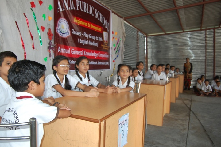A N D Public School-Quiz Competition