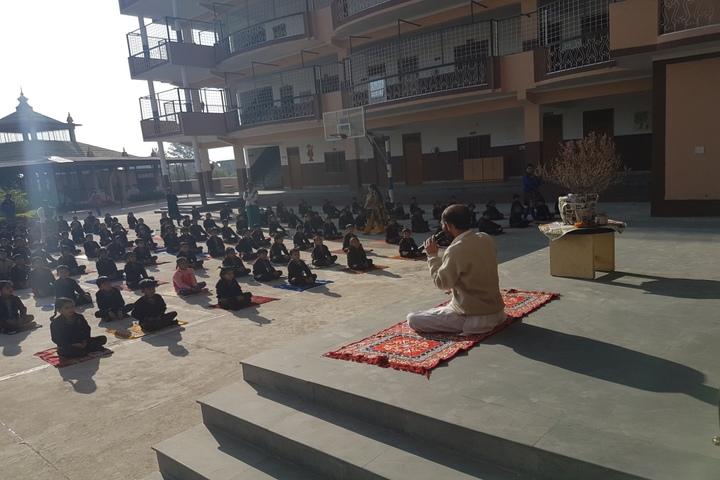 A N D Public School-Yoga