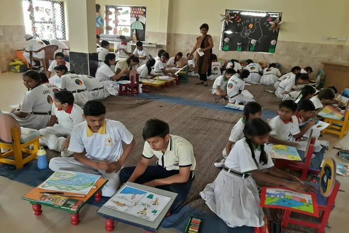 Achivers Home Public School-Drawing Competition
