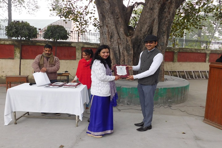 Adarsh Bal Nikethan Senior Secondary School-Award Presentation