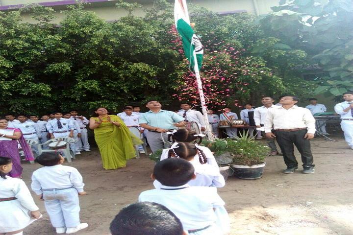 Adarsh Vidya Niketan-Flag Hosting