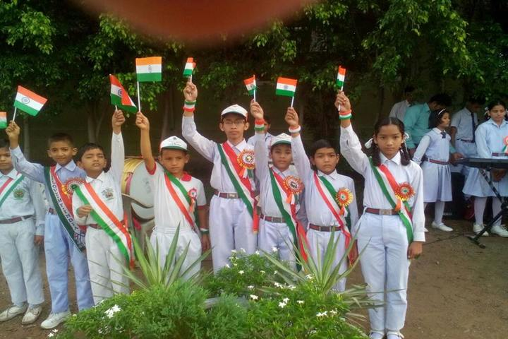 Adarsh Vidya Niketan-Independence Day Celebrations
