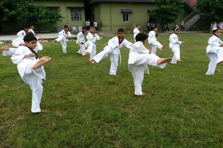 Adarsh Vidya Niketan-Karate