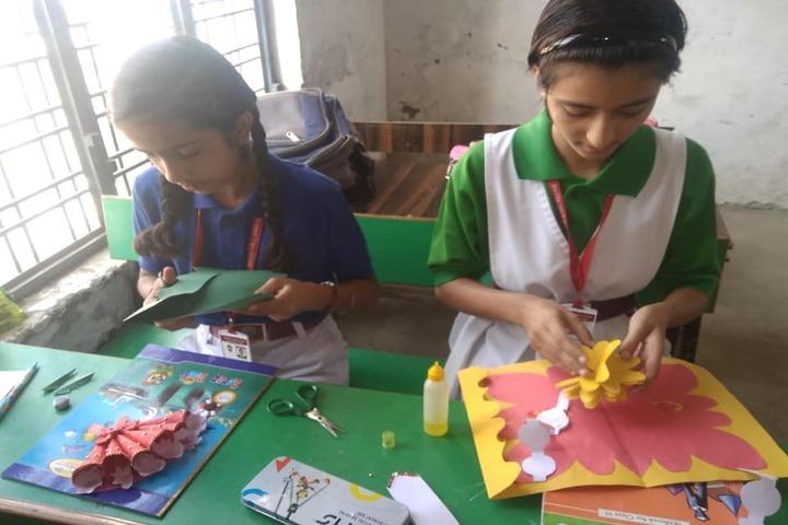 Ambition Public School-Art And Craft
