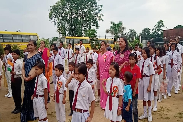 Ambition Public School-Morning Assembly