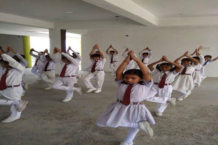 Ambition Public School-Yoga Activity