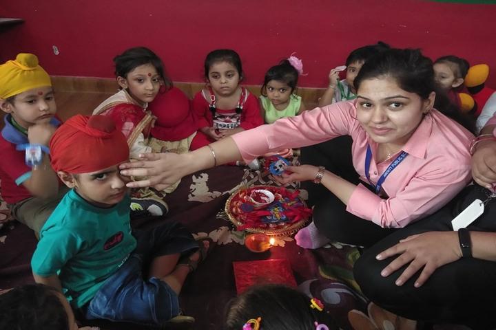 Amenity Public School-Rakhi Celebrations