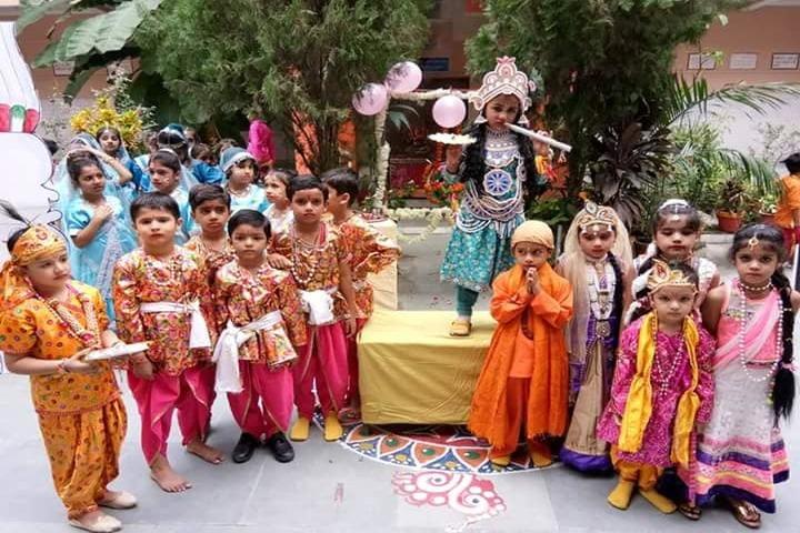 Anand Swaroop Arya Sarawasti Vidya Mandir-Krishnastami Celebrations