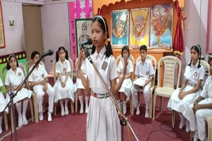 Anand Swaroop Arya Sarawasti Vidya Mandir-Singing