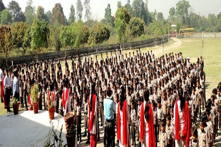 Anunaad Public School-Assembly