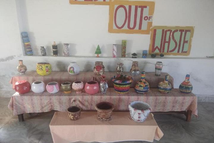 Anunaad Public School-Best out of Waste
