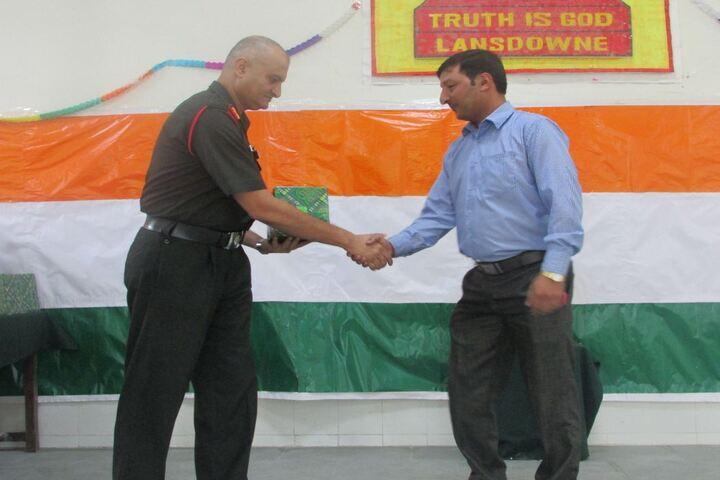 Army Public School-Congratulating
