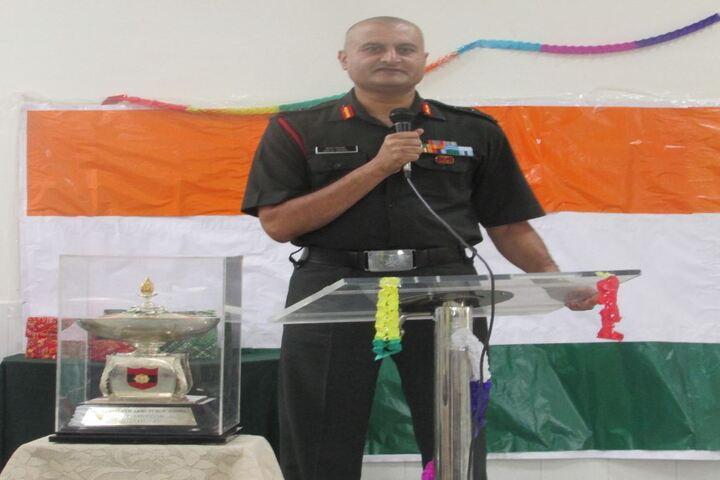 Army Public School-Teachers Day Speech