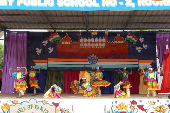 Army Public School No 2-Dance